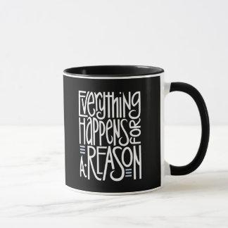 Everything Happens white Mug