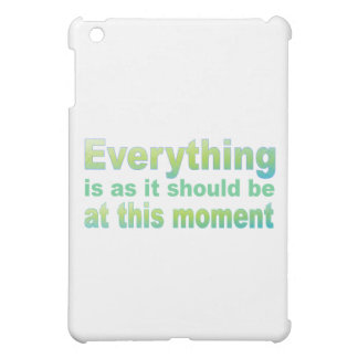 Everything is as it should be iPad mini case