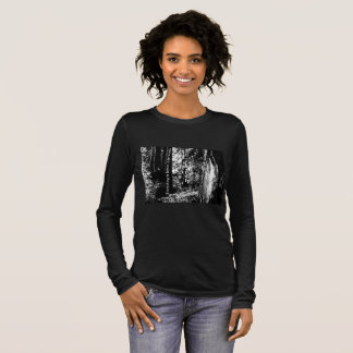 Everything is better in the woods. Womens T-shirt