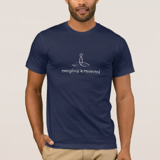Everything Is Connected - White Sanskrit style T-Shirt