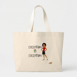 Everything is everything Sophisticated Lady Tote B Jumbo Tote Bag