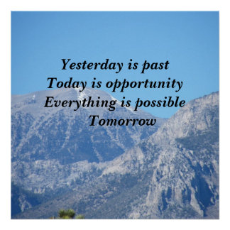 Everything is possible Tomorrow Poster