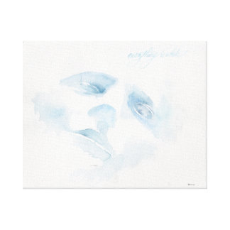 Everything is White Canvas Print
