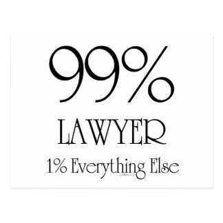 Everything Lawyer Postcard
