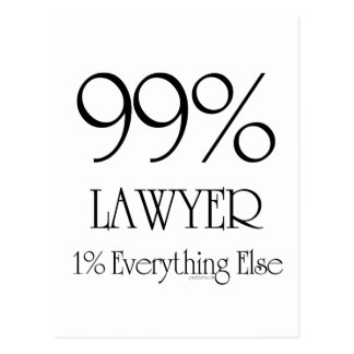 Everything Lawyer Postcard