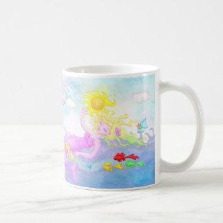 """""""Everything Pink, I Think"""" Mermaid Mug"""