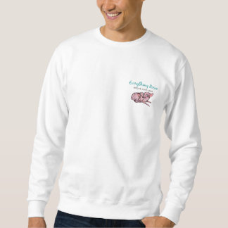 Everything Rosie Basic Sweatshirt (small graphic)