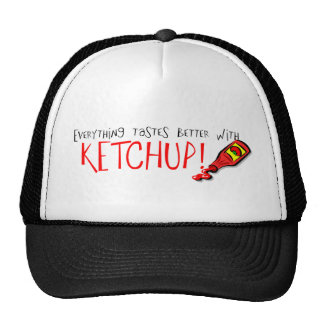 Everything Tastes Better with Ketchup Mesh Hat
