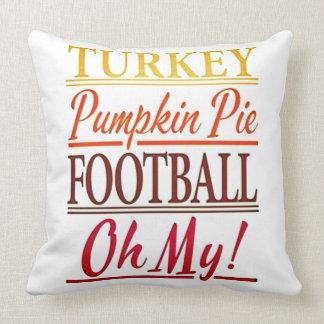 Everything Turkey Day Cushion