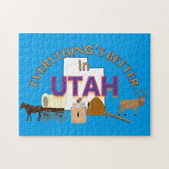 Everything's Better in Utah Puzzle