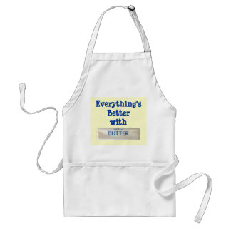 """Everything's Better with Butter"" Apron"