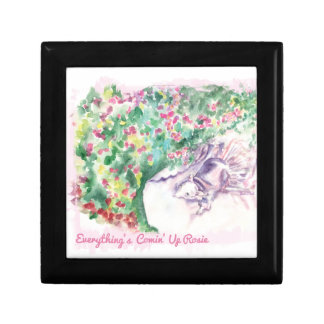 Everything's Comin' Up Rosie Small Square Gift Box