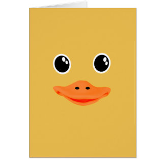 Everything's Ducky Baby Duck Card