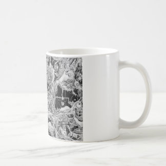 everything's fine coffee mug