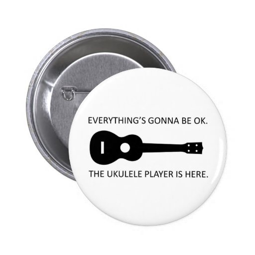 Everything's Gonna Be OK! Pinback Button