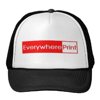 Everywhere Print Mesh Hats