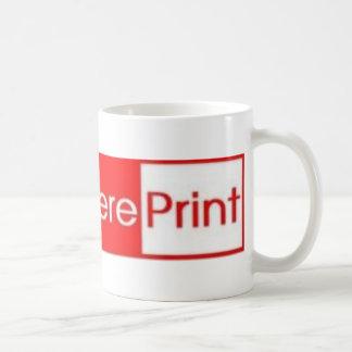 Everywhere Print Coffee Mug