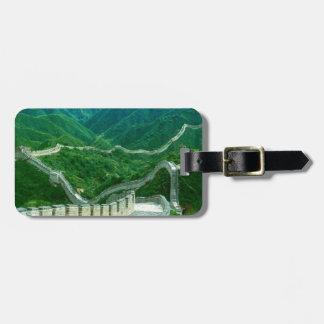 Everywhereness Great Wall Of China Bag Tag