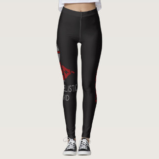 EVG blk and red tights