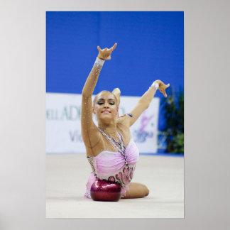 Evgeniya Kanaeva ball all around Poster