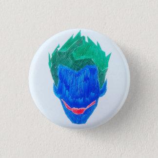 Evil 3 Cm Round Badge