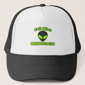 Evil Alien Archaeologist Trucker Hat