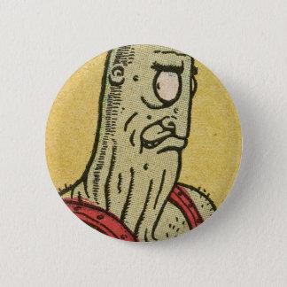 Evil Alien by Basil Wolverton 6 Cm Round Badge