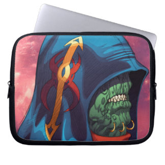 Evil Alien Diplomat Art by Al Rio Laptop Computer Sleeves