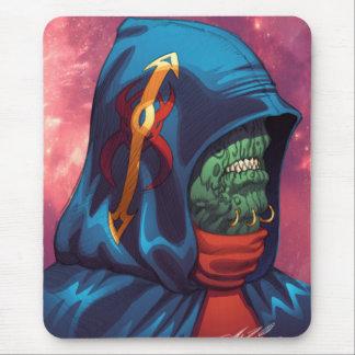 Evil Alien Diplomat Art by Al Rio Mousepad