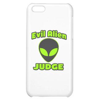 Evil Alien Judge iPhone 5C Cases