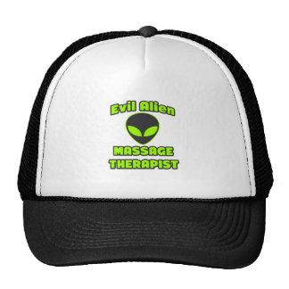 Evil Alien Massage Therapist Hats