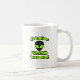 Evil Alien Physical Therapist Mugs