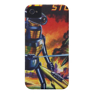 Evil Alien Robot iPhone 4 Case-Mate Case
