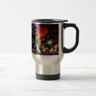 Evil Alien Robot Travel Mug