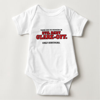 Evil Baby Glare-Off Tournament Commemorative Onesi Baby Bodysuit