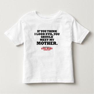 Evil Baby Glare-Off Tshirt