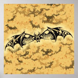 Evil Bat Print