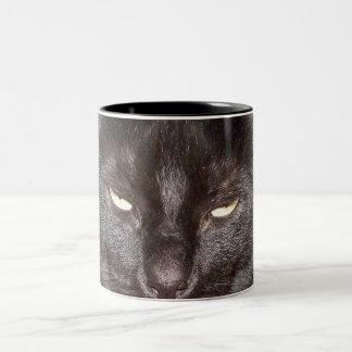 Evil Black Cat Mugs
