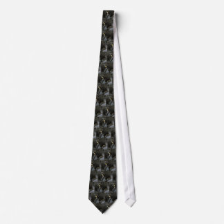 Evil Black Cat Tie