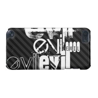 Evil; Black & Dark Gray Stripes iPod Touch (5th Generation) Covers