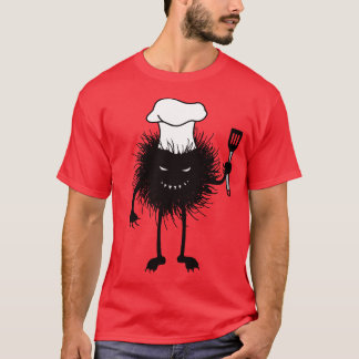 Evil Bug Chef Loves To Cook T-Shirt