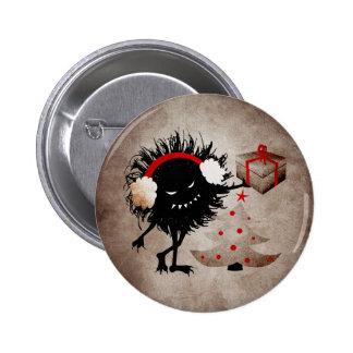 Evil Bug Gives Christmas Present Pins