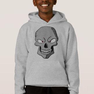 Evil Cartoon Skull Hoodie