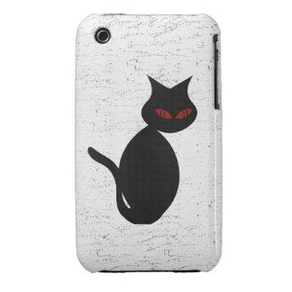 Evil Cat 3G iPhone Case iPhone 3 Case-Mate Cases