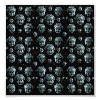 Evil Child Expression Pattern Art Photo