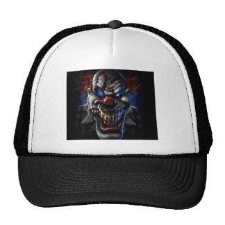 Evil Clown And Cigar Mesh Hat