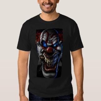 Evil Clown and Cigar Closeup T-shirt