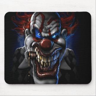 Evil Clown And Cigar Mousepad