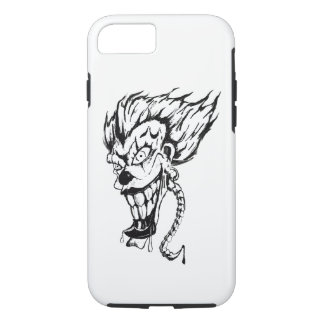 Evil clown Apple iPhone Barely There Phone Case