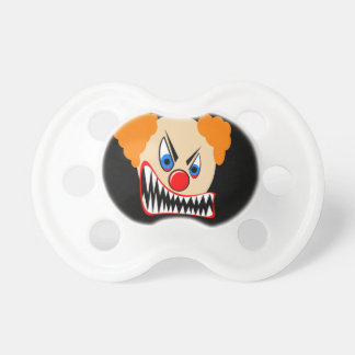Evil Clown Baby Pacifiers